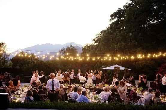 WEDDING LIGHTING IN COLORADO